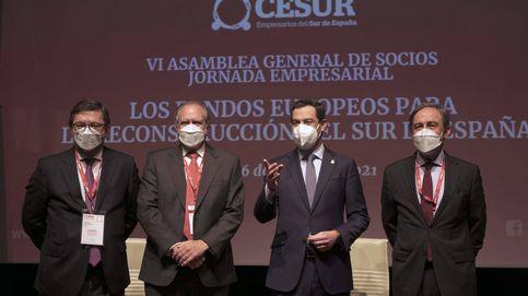 Moreno tranquiliza a los empresarios: Andalucía será un refugio para la inversión