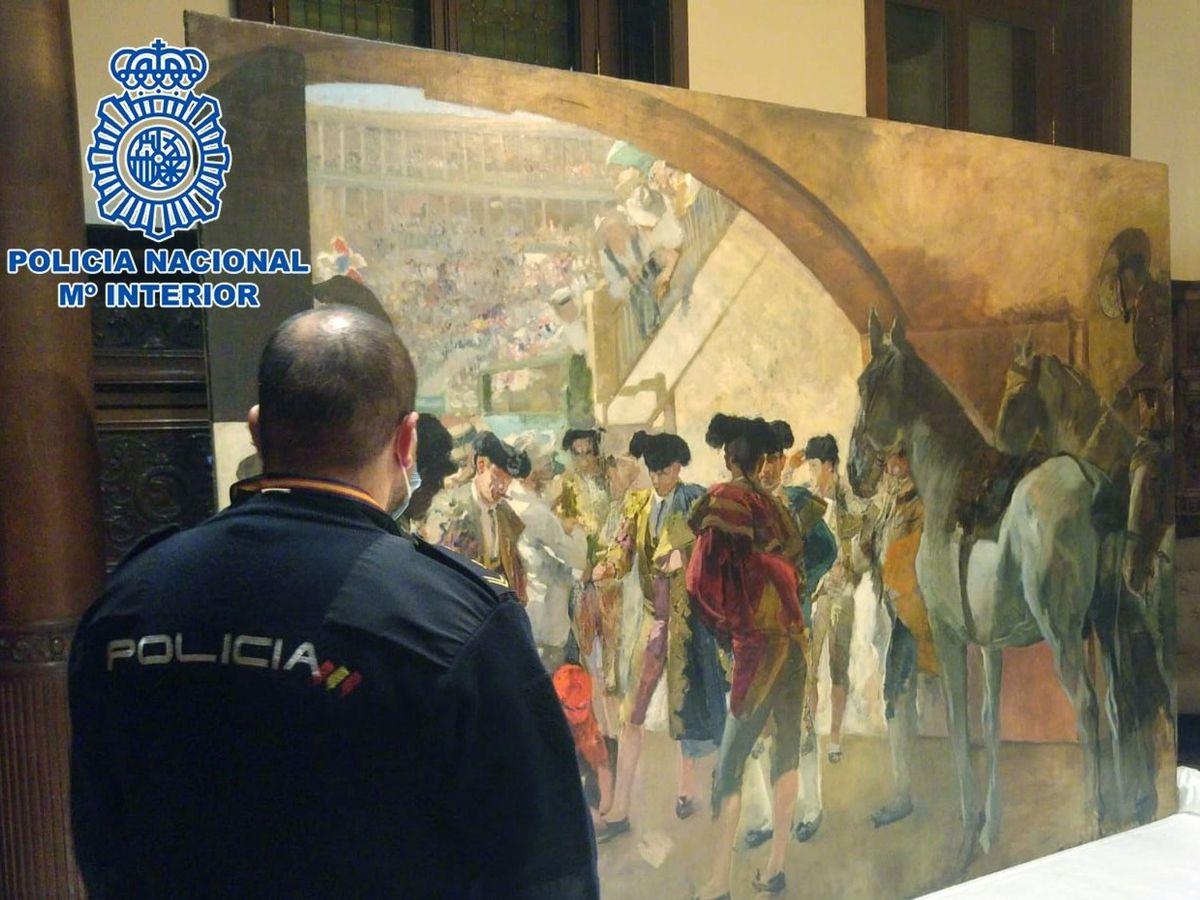 Foto: El cuadro 'Antes de la corrida', de Joaquín Sorolla. (EFE)