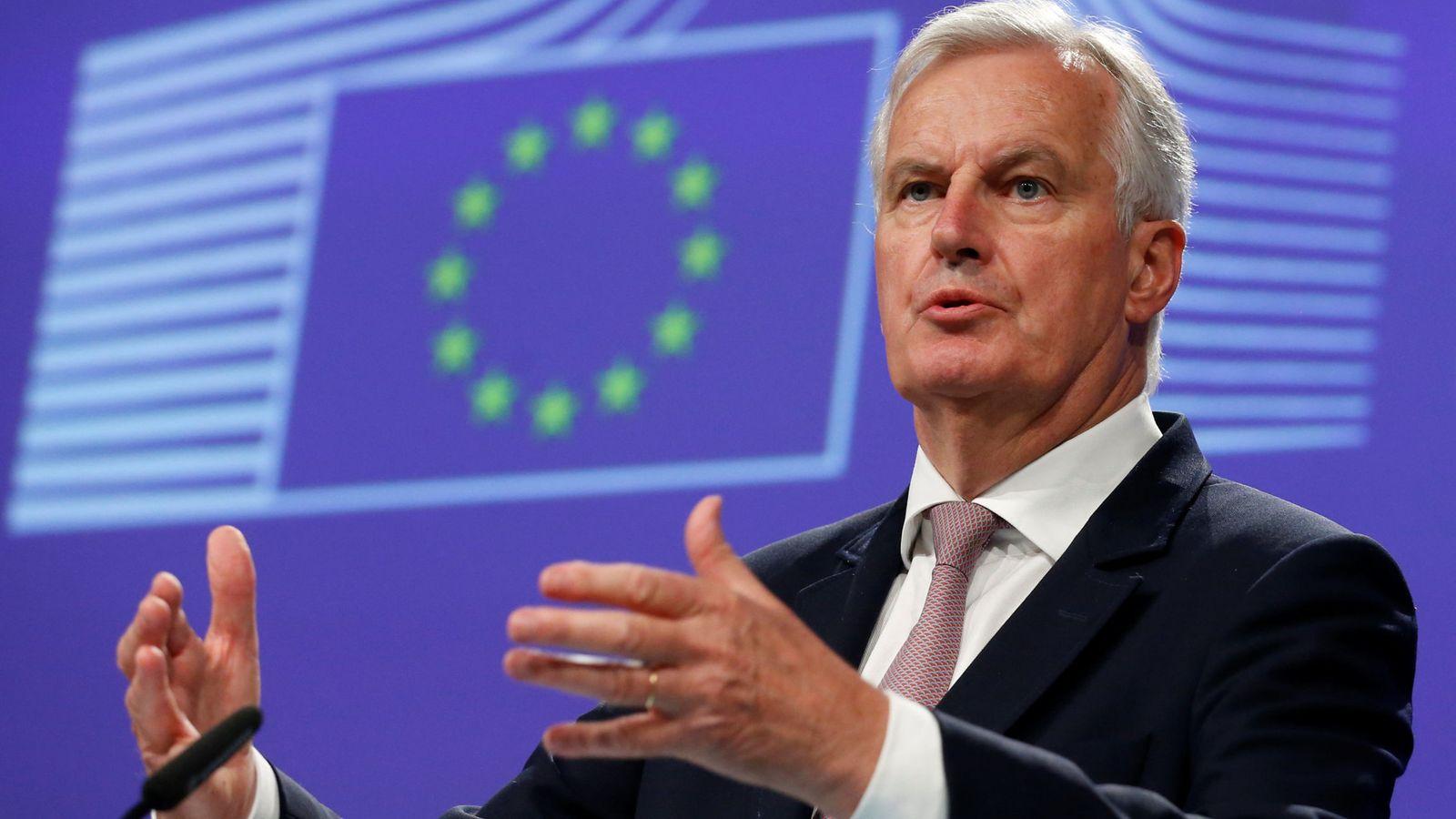 Foto: El negociador jefe de la Unión Europea, Michel Barnier. (Reuters)