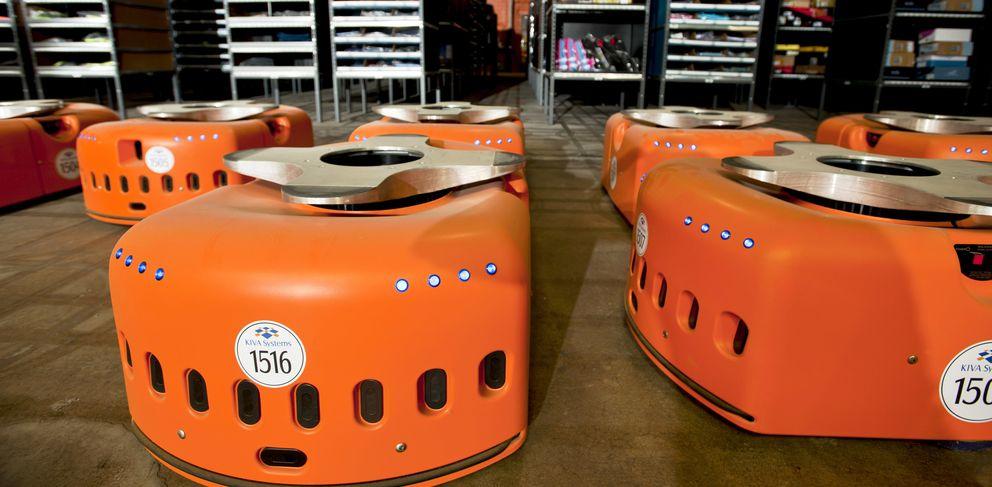 Foto: Amazon 'contrata' 15.000 robots para hacer frente a la temporada navideña