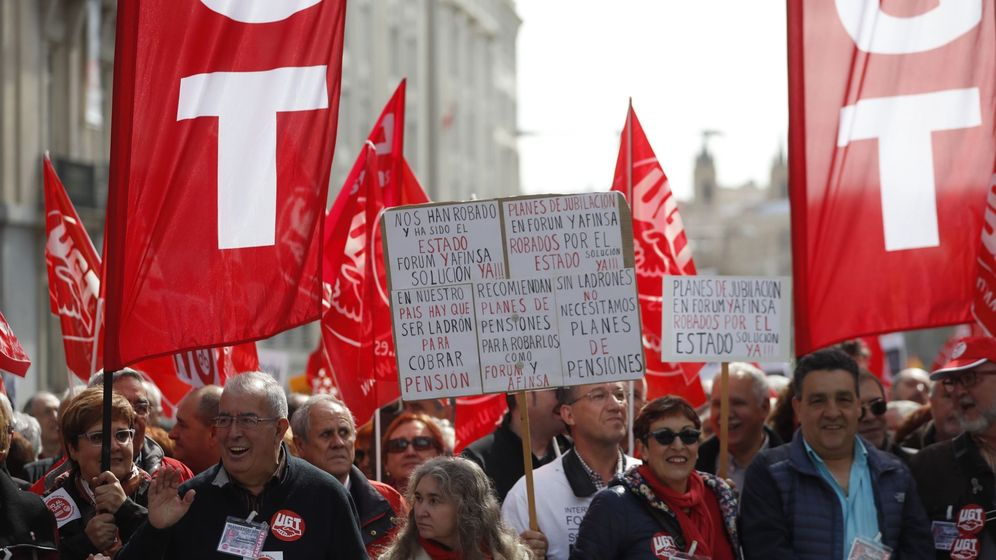 Foto: Manifestación en defensa de unas pensiones dignas. (EFE)