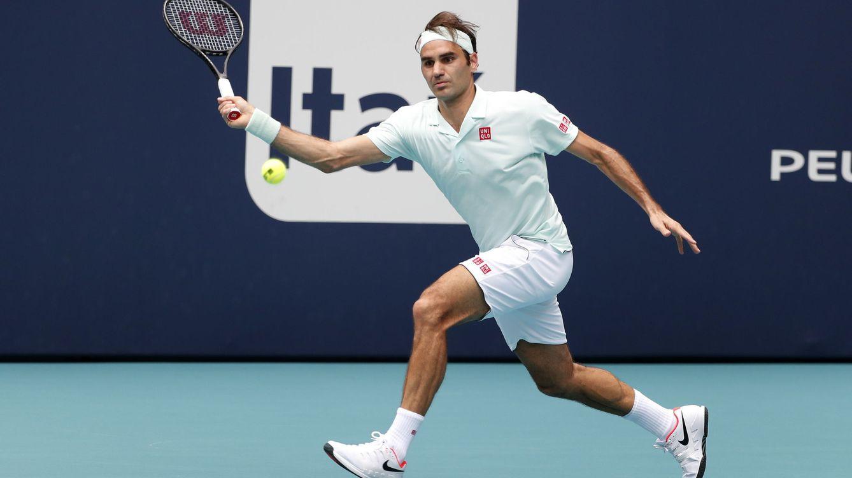 Roger Federer aplasta al gigante Isner en la final del Masters de Miami