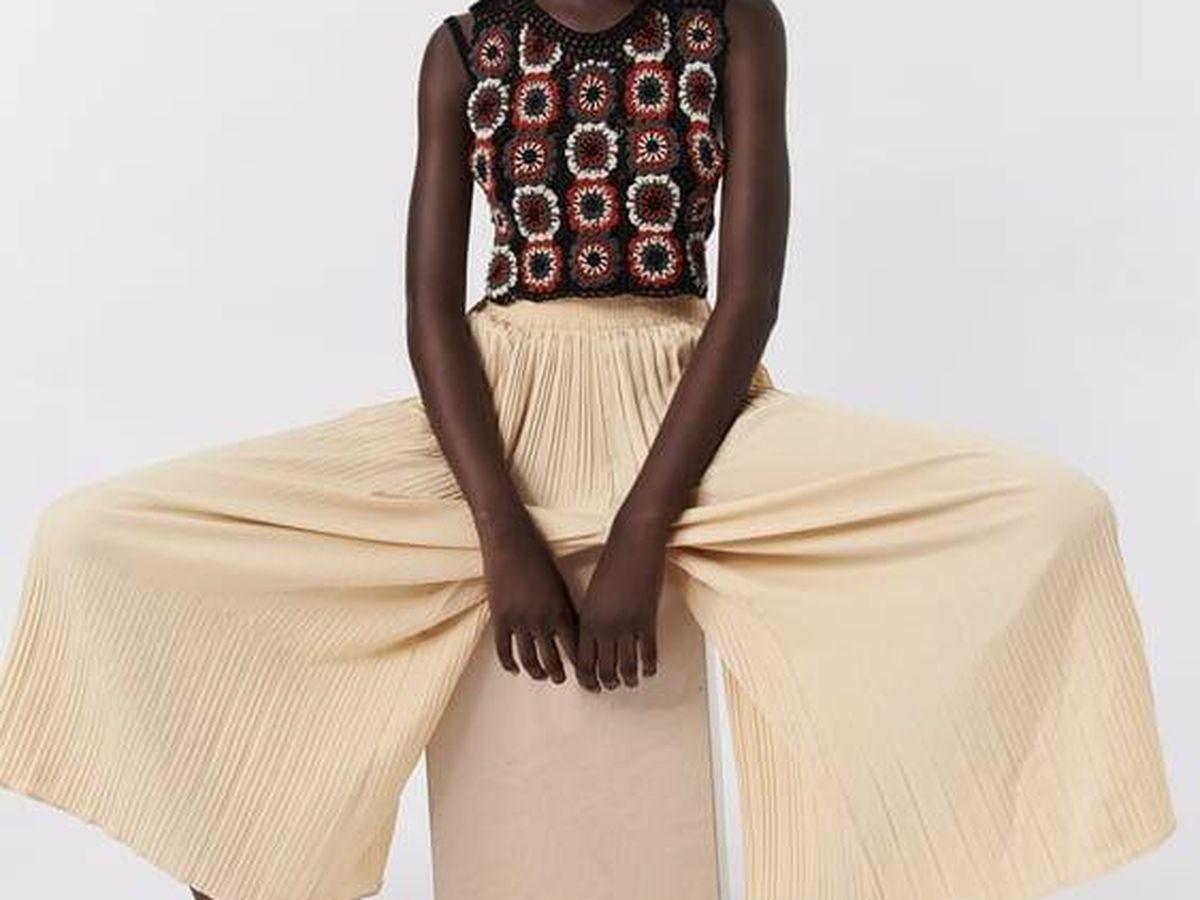 Foto: Descubre este pantalón rebajado de Zara. (Cortesía)
