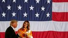 Melania Trump, más Obama que nunca: ahora se viste igual que Michelle