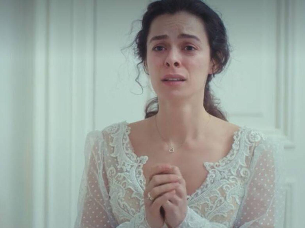 Foto: Bahar se prueba su vestido de novia en el gran final de 'Mujer' (Antena 3)