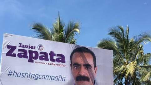 Un candidato mexicano triunfa con su lema para la campaña electoral