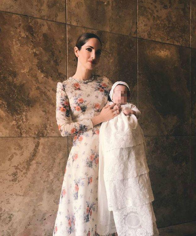 Foto: Eugenia Silva con su hijo Jerónimo. (Instagram)