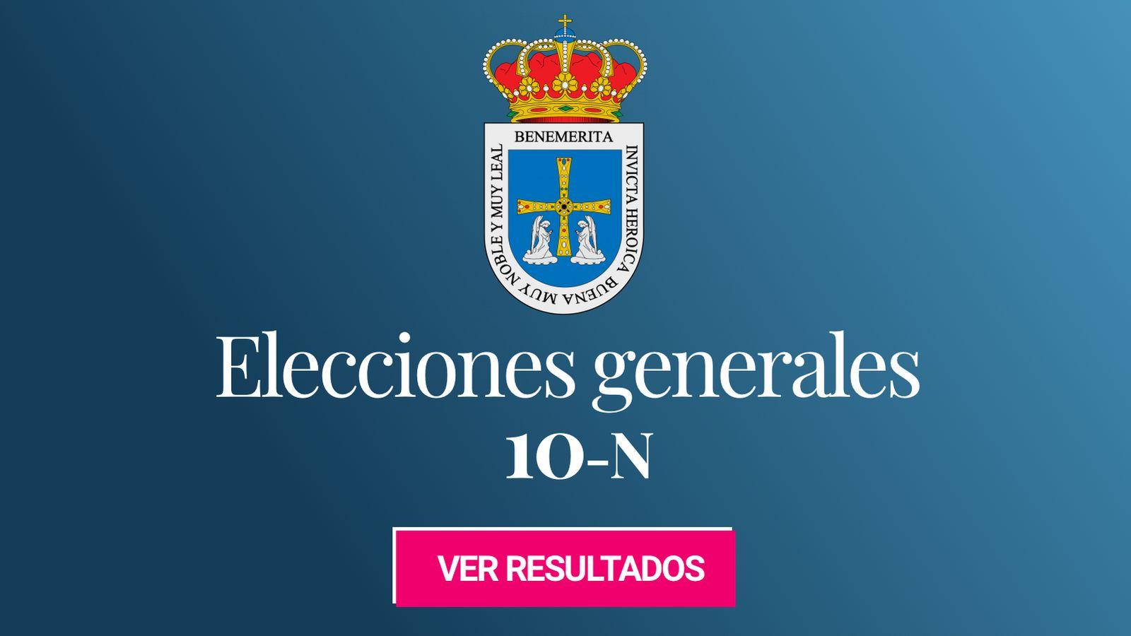 Foto: Elecciones generales 2019 en Oviedo. (C.C./EC)