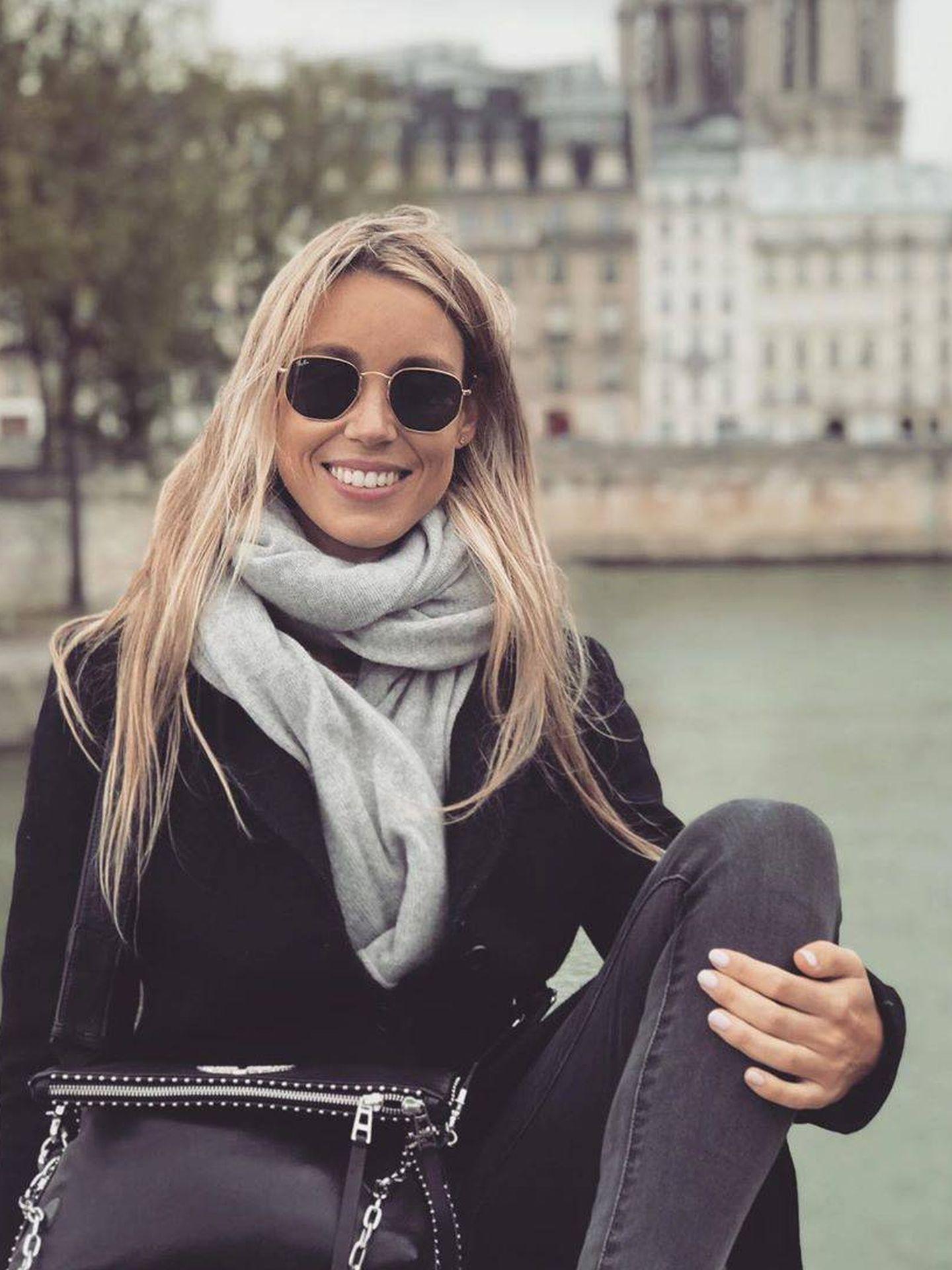 Maribel en París. (Redes)