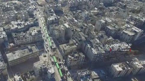 Un paseo por la destrucción de Alepo