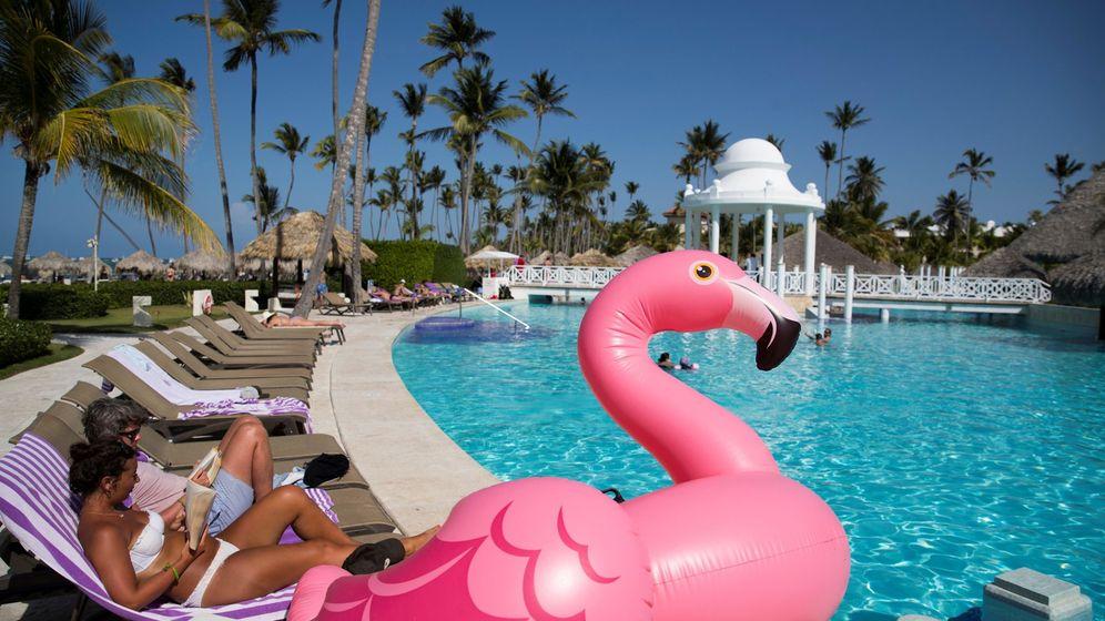 Foto: Turistas en Punta Cana (República Dominicana) (EFE)