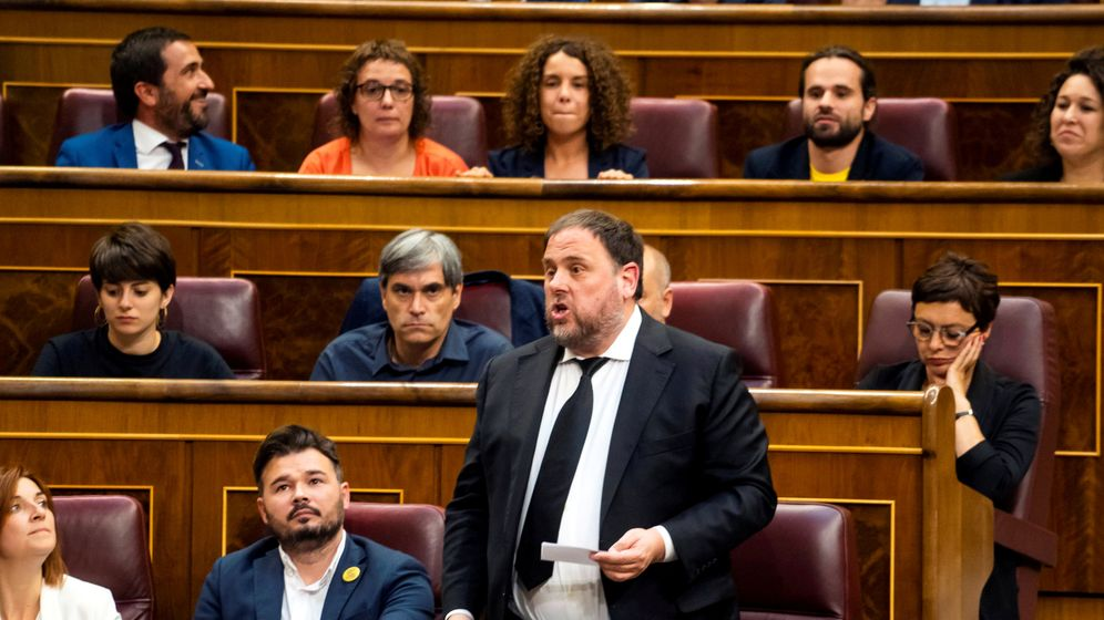 Foto: Oriol Junqueras, en el Congreso. (Reuters)