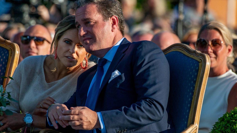 Magdalena y Chris O'Neill. (Getty)