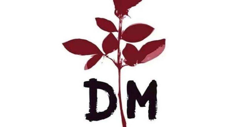 Logo de Depeche Mode en el que se basa el tatuaje de Díaz Ayuso.