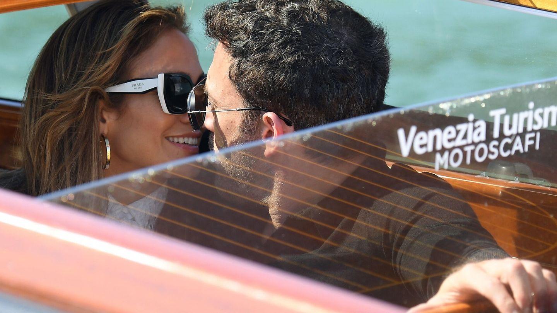 Besos y abrazos en Venecia (EFE)