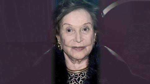 La duquesa de Franco, decaída y triste