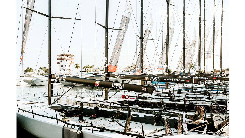 Foto: Puerto Portals ha sido elegido para celebrar la regata 52 Super Series.