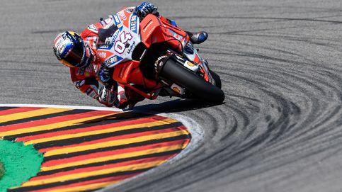 Dovizioso le quita la pole a Márquez en Brno y manda un mensaje a Lorenzo