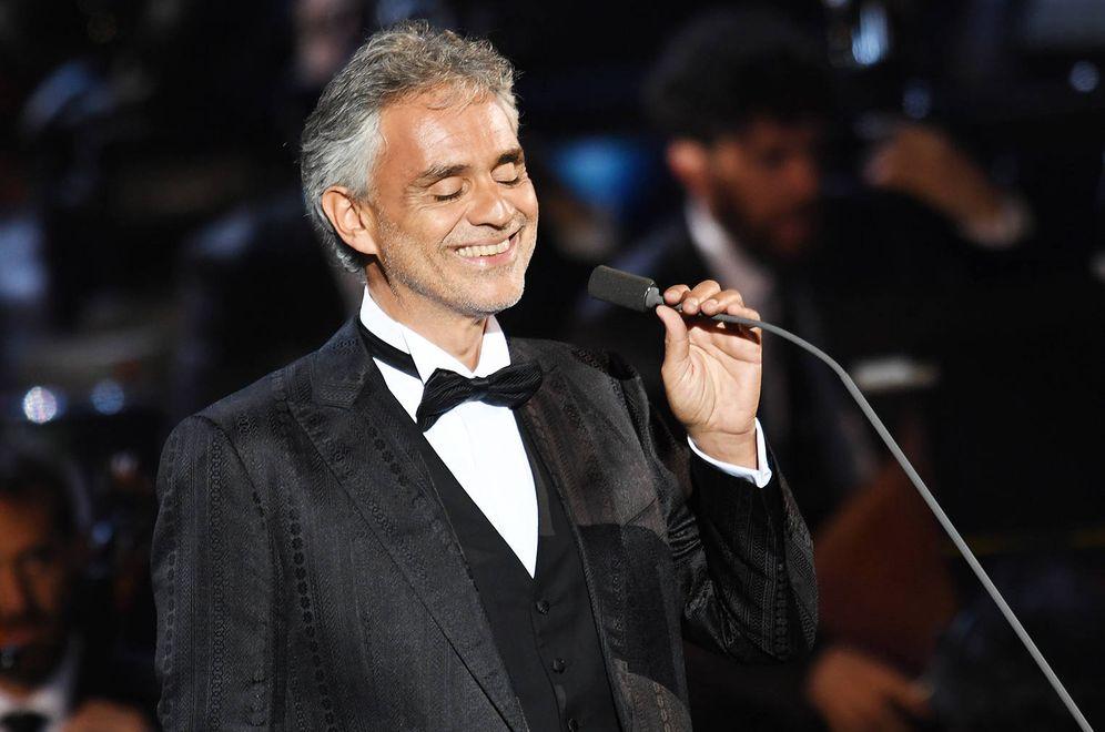 Foto: Andrea Bocelli, en una foto de archivo. (Gtres)