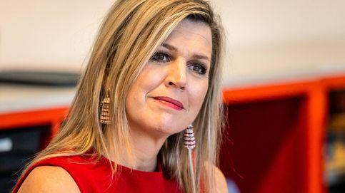 Máxima de Holanda sale por fin de palacio: su look 'mujer de rojo' con el que triunfa