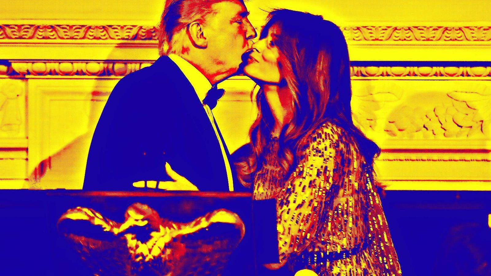 Foto: Donald y Melania Trump.