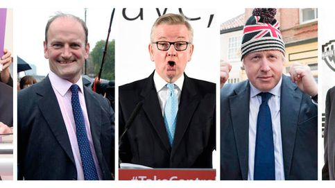 La escuadra del Brexit: cinco figuras que quieren romper Europa
