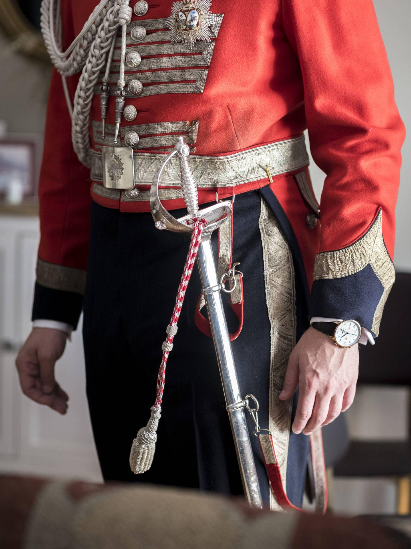 Detalle del uniforme de Gonzalo. (Foto:  Liven Photography)