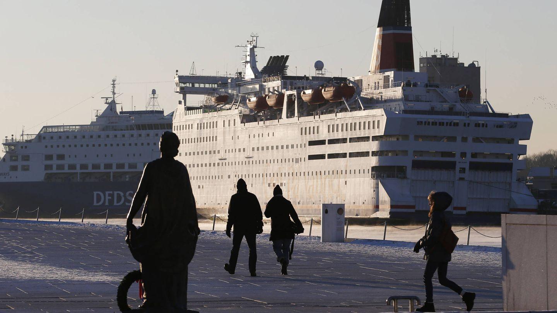 Cruceros atracados en el puerto de Oslo, en diciembre de 2012. (Reuters)
