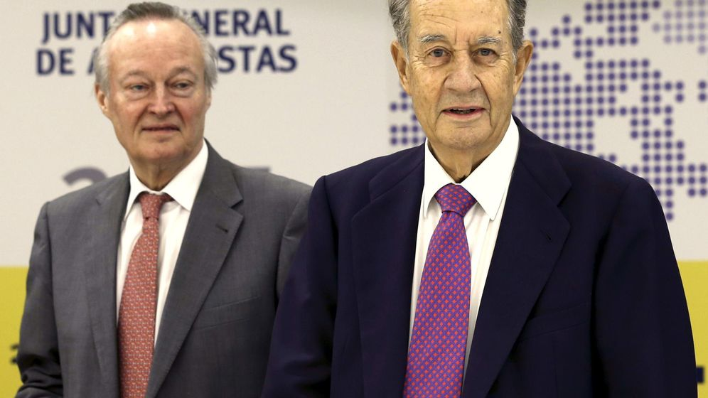 Foto: Josep Piqué y Juan Miguel Villar Mir