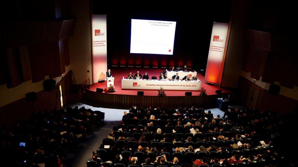 Foto: Imagen de la asamblea extraordinaria realizada el pasado mes de enero (Efe)
