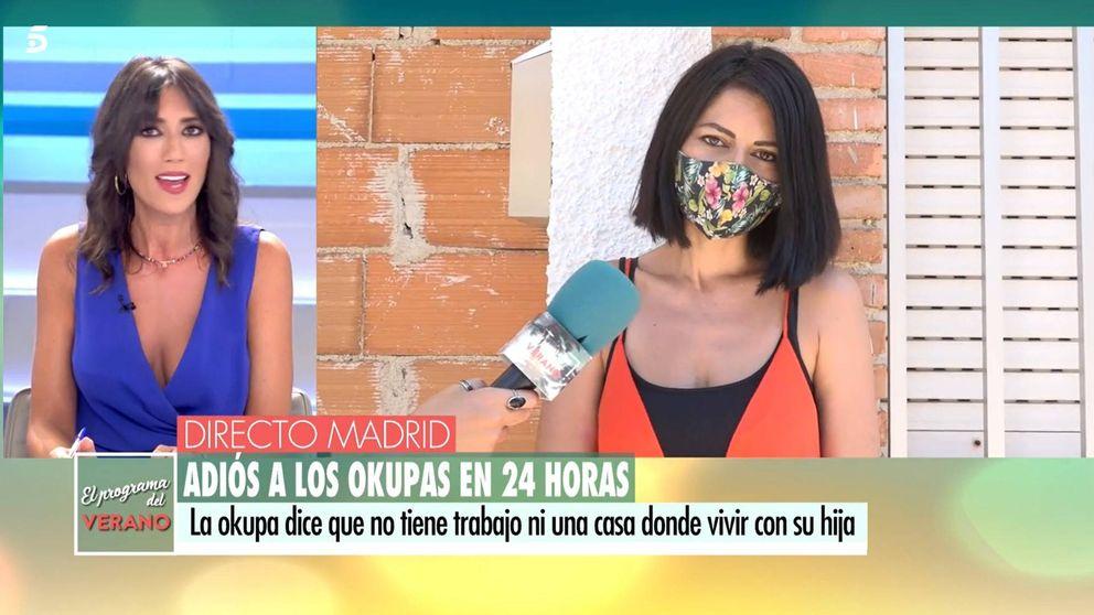 Susana Ramos, periodista de Telecinco recupera su casa okupada tras salir en TV