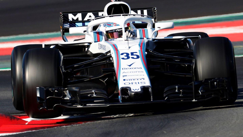 Robert Kubica participó con Williams en los entrenamientos de pretemporada en Montmeló. (EFE)