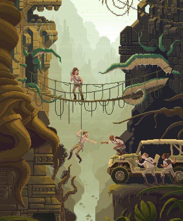 Foto: Una de las ilustraciones que Navarro ha colgado en su página web. (Octavi Navarro)