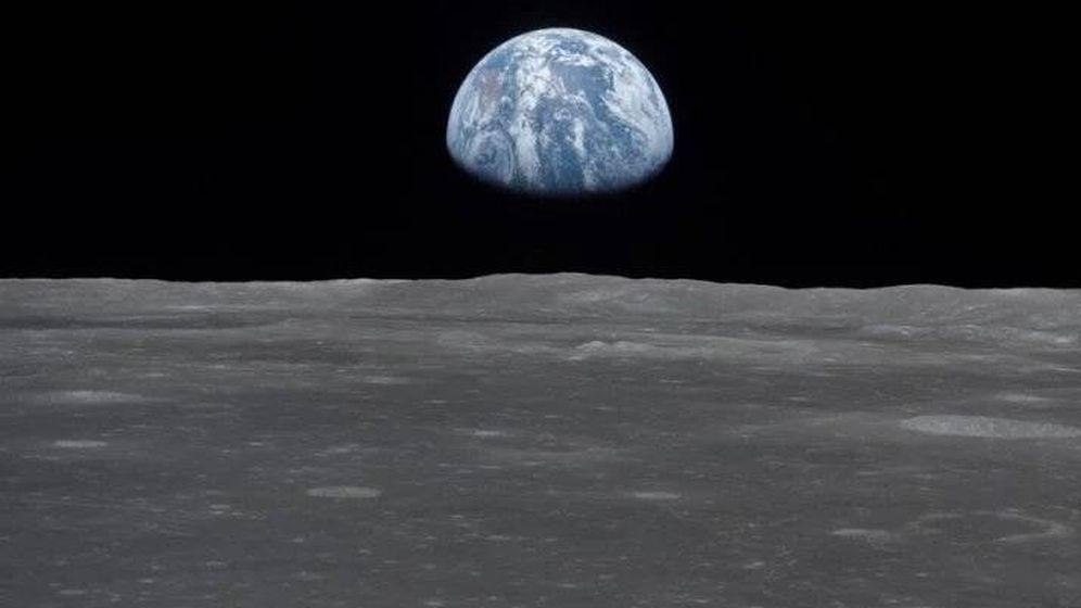 Foto: El Planeta Tierra visto desde la Luna. Foto: NASA