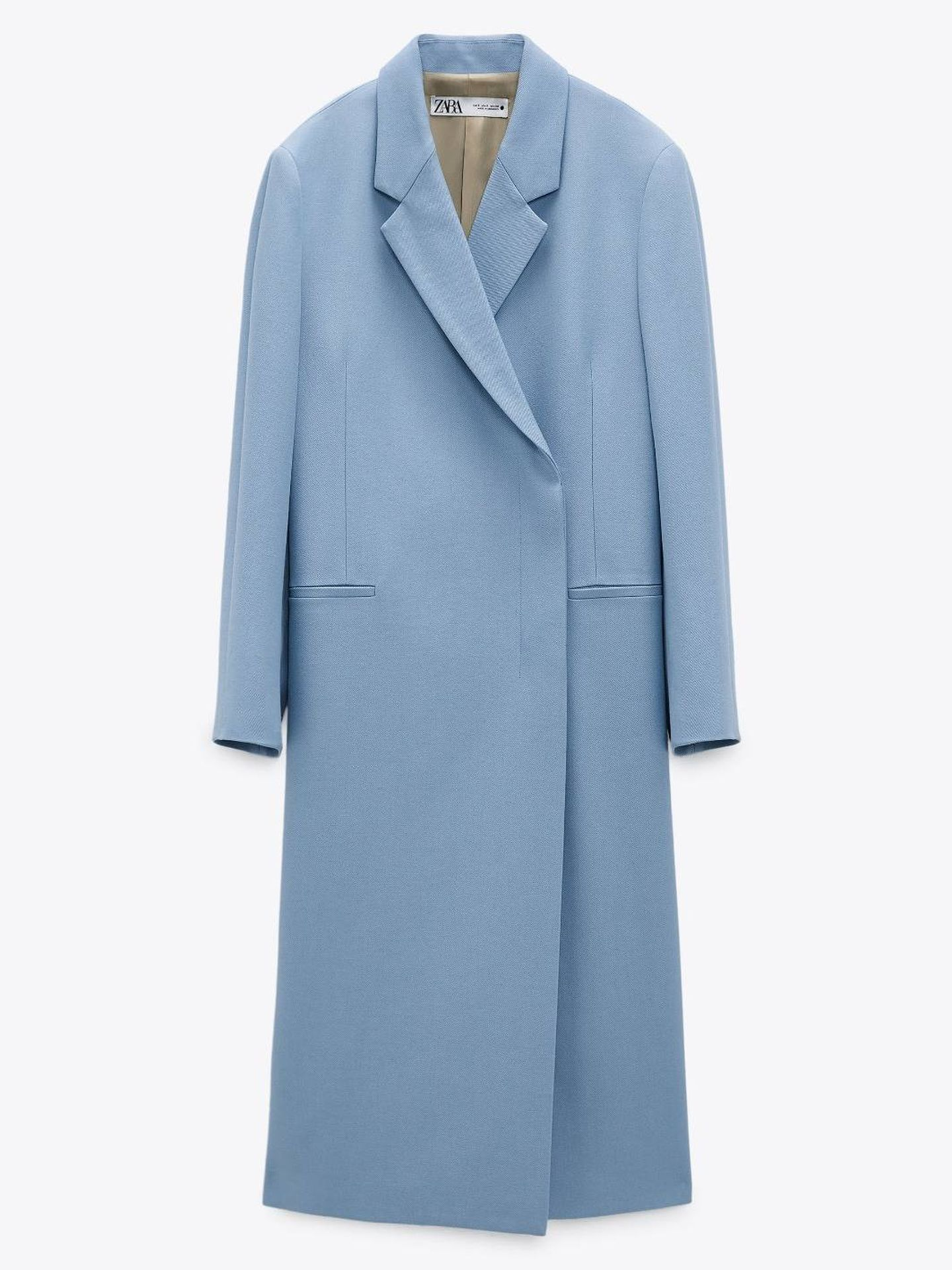 El abrigo de Zara.