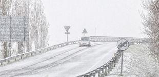 Post de Alerta roja por nieve en el noroeste: cadenas obligatorias en 14 puertos asturianos