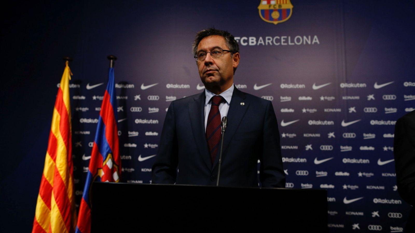 Foto: Josep Maria Bartomeu, presidente del FC Barcelona. (EFE)