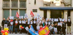 """Post de Clamor en el consulado de España en Argentina: """"Con estos salarios somos pobres"""""""