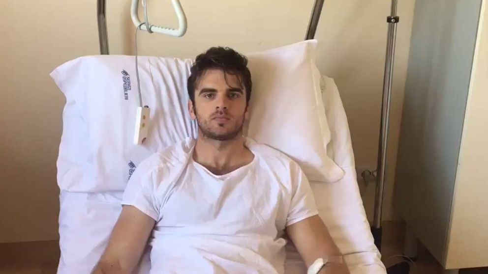 Edoardo Boscolo Dodo ('GH 14'), operado de un cáncer de testículo