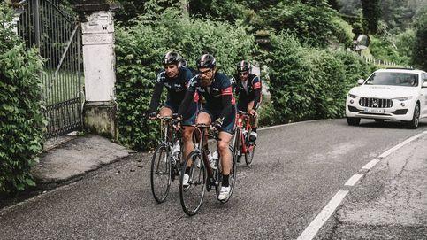 Indurain participa en el Tour ciclista París-Módena por una buena causa