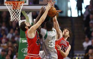 Los Bulls remontan gracias a Pau y Mirotic y Marc sigue en racha