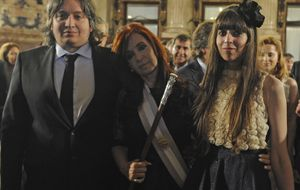 El heredero de los Kirchner es 'mudo'