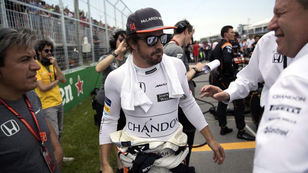 Foto: Fernando Alonso en su etapa en McLaren Honda. (EFE)