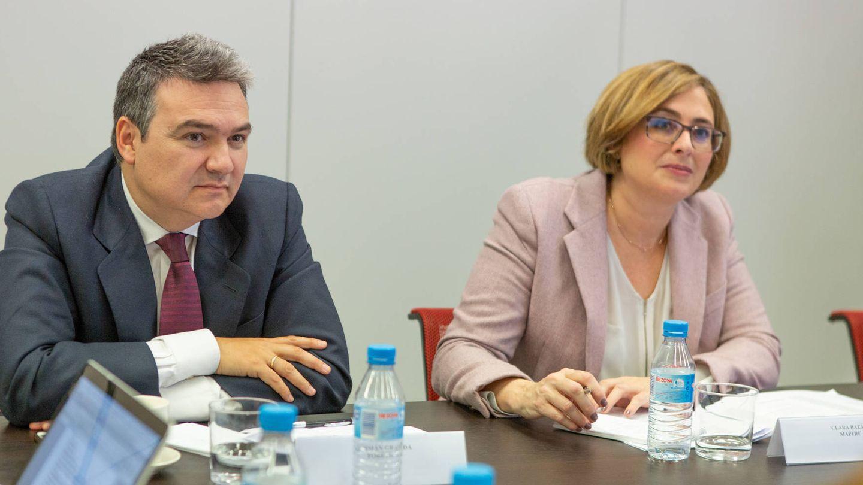 Germán Granda (Forética) y Clara Bazán (Mapfre).