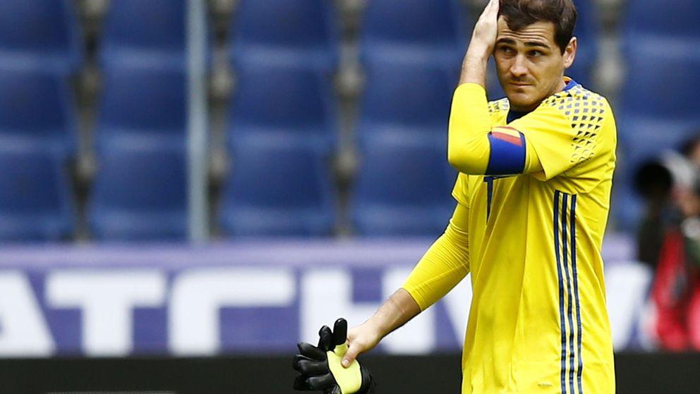 Casillas se empeña en que el debate en la portería de la Selección no se cierre