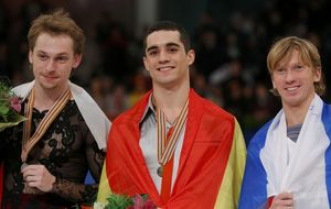 Javier Fernández, segundo oro europeo gracias a la rodaja de limón