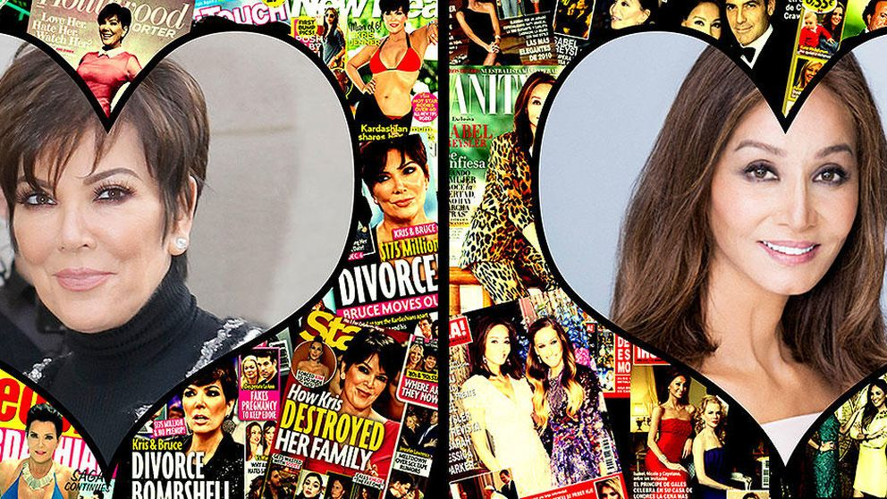Isabel Preysler y Kris Jenner: las dos 'Mammas' de la prensa rosa