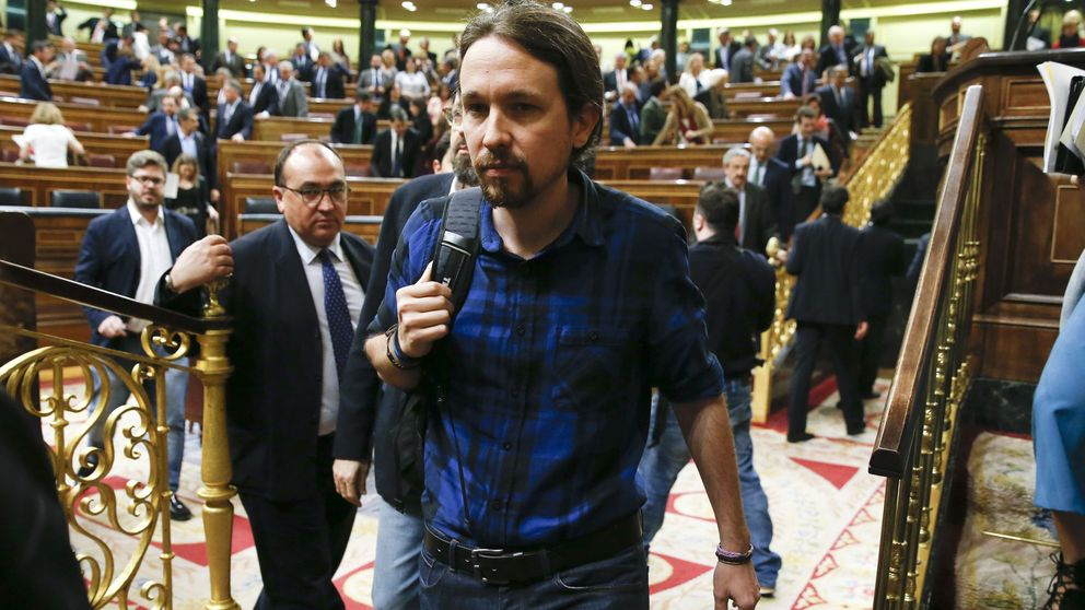 La guerra entre Iglesias y Errejón se instala en el grupo parlamentario