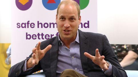 El príncipe Guillermo 'se moja': su reacción ante una delicada pregunta