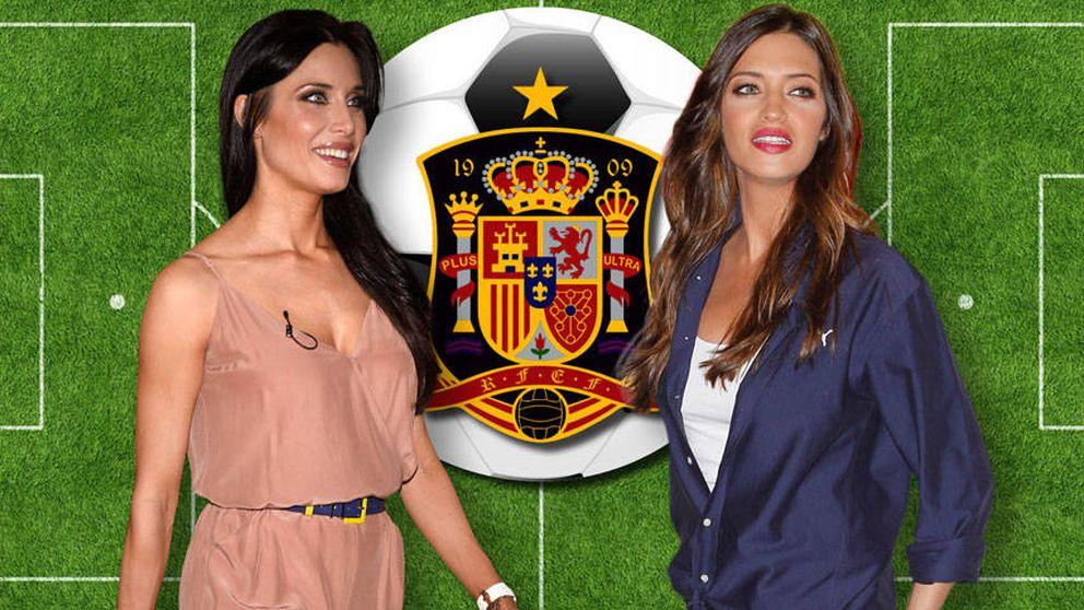 Sara Carbonero cede el puesto de 'primera dama' de la selección a Pilar Rubio